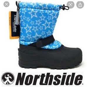 💕SALE💕 Northside Blue Star Frosty Snow Boots